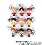 EXO Figure Keyring 2020 YOU WIN Edition (2020 Ribbon + Photo Card + Mirror) (Suho) (Type A / Sky)