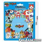 New 3DS 妖怪手錶 TPU Cover (淺藍色) (日本版)