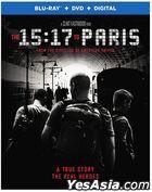 The 15:17 to Paris (2018) (Blu-ray + DVD + Digital) (US Version)