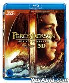 Percy Jackson: Sea of Monsters (Blu-ray) (2-Disc) (3D + 2D) (Normal Edition) (Korea Version)