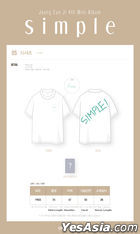 Apink : Jung Eun Ji 'Simple' Official Goods - T-shirt (One Size)