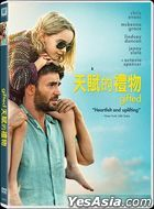 Gifted (2017) (DVD) (Hong Kong Version)