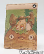 My Neighbor Totoro : Art Leather Series Pass Case Above the Head