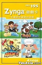 Zynga Game Card $ 25