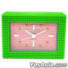 nanoblock : Alarm Clock Ver.2 (Green)