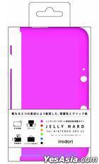 3DS LL Jelly Hard (粉红色) (日本版)
