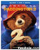 Paddington 2 (2017) (Blu-ray + DVD + Digital) (US Version)