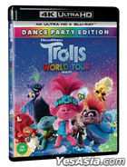 Trolls World Tour (4K Ultra HD + Blu-ray) (Limited Edition) (Korea Version)