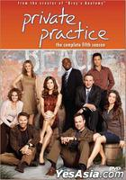 Private Practice (DVD) (The Complete Fifth Season) (Hong Kong Version)