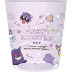 宝可梦 透明塑胶杯 (紫色)
