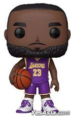FUNKO POP! NBA: LA Lakers - LeBron James 10' (Purple Jersey)