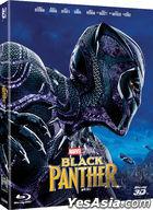 Black Panther (2D + 3D Blu-ray) (Korea Version)