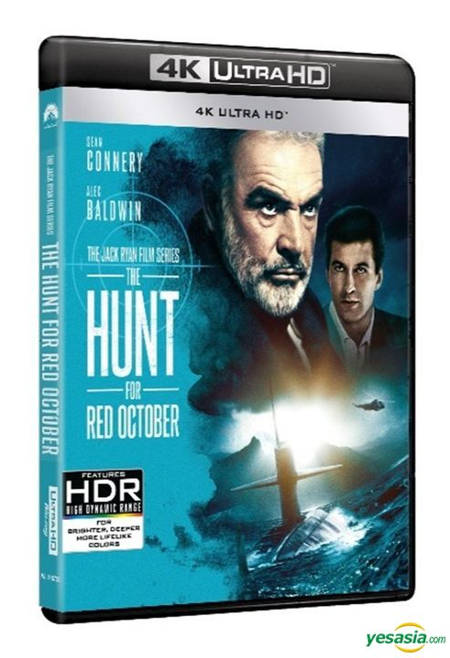 Yesasia The Hunt For Red October 1990 4k Ultra Hd Blu Ray Special Edition Hong Kong Version Blu Ray Sean Connery Alec Baldwin Intercontinental Video Hk Western World Movies Videos