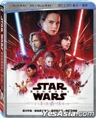 Star Wars: The Last Jedi (2017) (Blu-ray) (3D + 2D) (3-Disc Edition) (Taiwan Version)