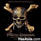 Pirates Of The Caribbean : Dead Men Tell No Tales OST (Korea Version)