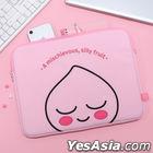 Kakao Friends Embroider Notebook Pouch (Apeach)