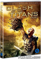 Clash Of The Titans (DVD) (2-Disc) (Normal Edition) (Korea Version)