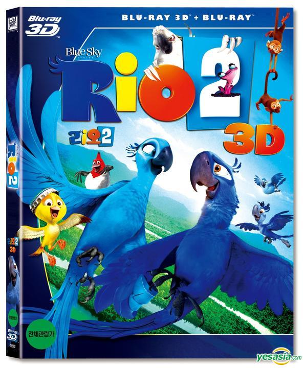 Yesasia Rio 2 2014 Blu Ray 2 Disc 3d 2d O Ring Case Korea Version Blu Ray Carlos Saldanha 20th Century Fox Home Entertainment Korea Anime In Korean Free Shipping
