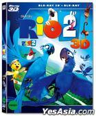 Rio 2 (2014) (Blu-ray) (2-Disc) (3D + 2D) (O-Ring Case) (Korea Version)