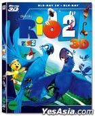 奇鸚嘉年華2 (Blu-ray) (2-Disc) (3D + 2D) (O-Ring Case) (韓國版)