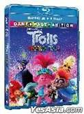Trolls World Tour (2020) (Blu-ray) (2D + 3D) (Hong Kong Version)