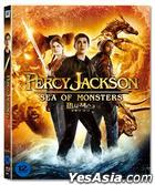 Percy Jackson: Sea Of Monsters (2013) (Blu-ray) (Limited Edition) (Korea Version)