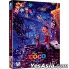 Coco (2D + 3D Blu-ray) (2-Disc) (Combo Limited Edition) (Korea Version)