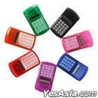 Rainbow Electronic Calculator (Pink)