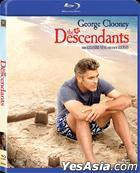 The Descendants (2011) (Blu-ray) (Hong Kong Version)