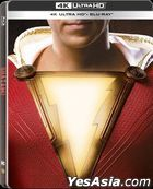 Shazam! (2019) (4K Ultra HD + Blu-ray) (Steelbook) (Hong Kong Version)