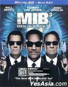 Men in Black 3 (2012) (Blu-ray) (2D + 3D) (Hong Kong Version)