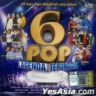 6 Pop Lagenda Terunggul (2CD) (Malaysia Version)
