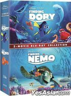 Finding Dory + Finding Nemo 2-Movie Collection (Blu-ray) (Hong Kong Version)