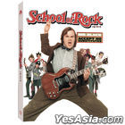 The School of Rock (Blu-ray) (First Press Limited Slip Case + Photobook + Art Card) (Korea Version)