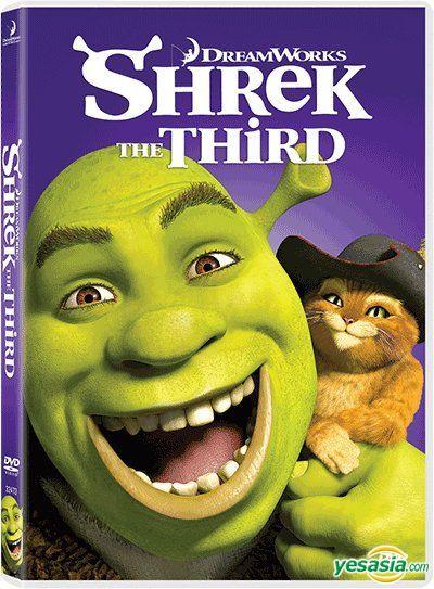 Yesasia Shrek 3 2007 Dvd Deltamac Version Reprint Hong Kong Version Dvd Dreamworks Pictures Western World Movies Videos Free Shipping