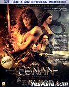 Conan the Barbarian (2011) (Blu-ray) (2D + 3D) (Hong Kong Version)