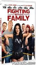 Fighting with My Family (2019) (DVD) (Hong Kong Version)