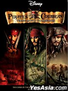 Pirates Of The Caribbean (Three Movie Collection) (DVD) (Hong Kong Version)