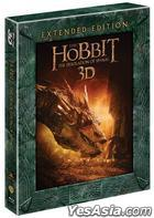 The Hobbit: The Desolation of Smaug (Blu-ray) (5-Disc) (3D + 2D) (Extended Edition) (Special Edition) (Korea Version)