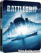 Battleship (2012) (Blu-ray) (Steelbook) (Limited Edition) (Hong Kong Version)