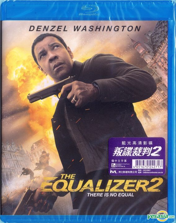 Yesasia The Equalizer 2 2018 Blu Ray Hong Kong Version Blu Ray Denzel Washington Pedro Pascal Intercontinental Video Hk Western World Movies Videos Free Shipping