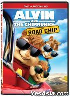 Alvin And The Chipmunks: The Road Chip (2015) (DVD) (US Version)