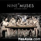 Nine Muses First Single Album - Let's Have a Party