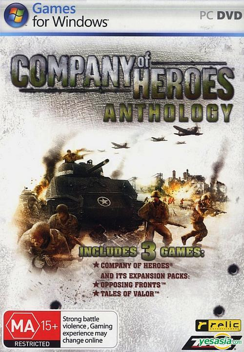 Yesasia Company Of Heroes Anthology English Version Dvd Version Thq Thq Pc Online Games Free Shipping North America Site
