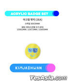 KIM JAE HWAN - KCON:TACT season 2 OFFICIAL MD (3. ACRYLIC BADGE SET)