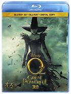 Oz: The Great And Powerful (3D Blu-ray + 2D Blu-ray + Digital Copy) (Japan Version)