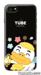 Kakao Friends - Flower Clear Jelly Case (Tube / Flower) (iPhone X / XS)