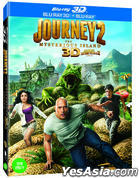 Journey 2: The Mysterious Island (Blu-ray) (2-Disc) (2D + 3D) (Lenticular) (Korea Version)