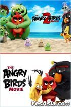 The Angry Birds Movie  2 Film Collection (DVD) (Taiwan Version)