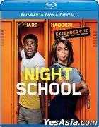 Night School (2018) (Blu-ray + DVD + Digital) (US Version)